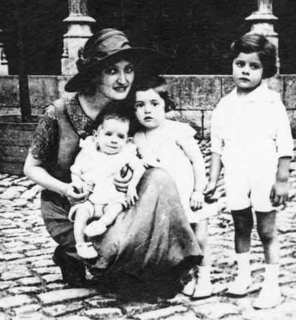 famille maurice été 1925 beaune