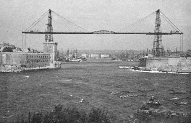 07 1919 marseille port+ pont transbordeur 001