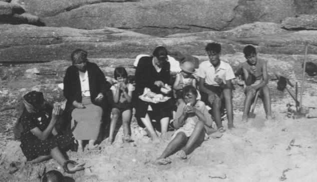 09 08 1938 vacances à trégastel maurice