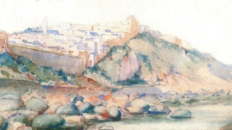 tanger 1909 aquarel 2 JPG